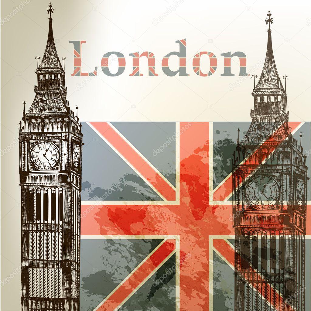 大笨钟的伦敦塔