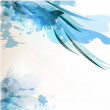 Abstract blue background - Image vectorielle
