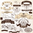 Collection of vector banners premium, genuine and highest qualit — Stock Vector
