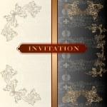 Wedding invitation card — Stock Vector #26908871