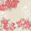 Floral vector background — Stock Vector #27186645