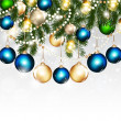 Christmas greeting background for design — Stockvektor