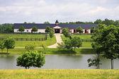 Horse Barn in Kentucky — Stock Photo