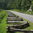 The Blue Ridge Parkway — Stock Photo