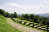 View from Moses H Cone Flat Top Manor — Stock Photo