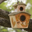 Decorative Birdhouse — Stock Photo