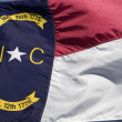 North Carolina Flag — Stock Photo