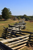 Fencing at Appomattox Court House Stage Road — 图库照片