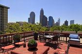 Charlotte Skyline — Stock Photo