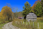 Old Barns — Stockfoto
