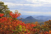 Looking Glass Rock on the Blue Ridge Parkway — Photo