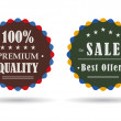 Royalty-Free Stock Photo: Vintage badges