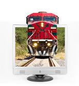 Train through tv — Stock Photo