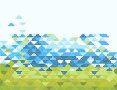 Abstrakt trianglar — Stockfoto