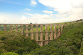 Aqueduct El Sitio — Stock Photo