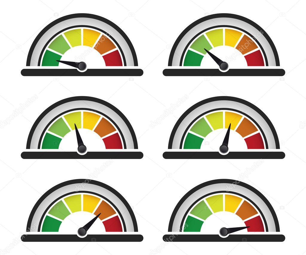 Meter Clip Art : Compteur de performance — photographie oculo