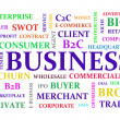 Business keywords diagram — Stock Photo #12762513