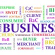 Business keywords diagram — Stock Photo