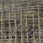 Bamboo construction scaffolding — Stock Photo #28145549
