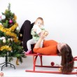 Christmas family — Stock Photo #13748277