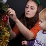 Christmas family — Stock Photo #16323513