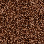 Coffee bean wallpaper — Vector de stock