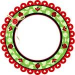 Ladybird frame — Stock Vector #27502765