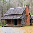 Cades Cove Cabin — Stock Photo