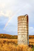 Rainbow Silo — Stock Photo