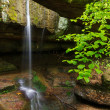 Rock Bridge in Ohio's Hocking Hills — Stock Photo