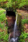 Rock Bridge Waterfall — Stock Photo