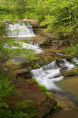 Upper Falls at Old Man's Cave — Stock Photo
