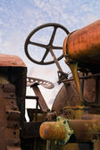 Old Rusty Tractor — Foto Stock
