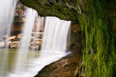Beneath Cataract Falls — Stock Photo