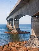 The Confederation Bridge — Stock Photo