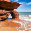 Sea Arch on PEI Coast, Canada — Stock Photo