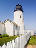 Pemaquid Point Lighthouse — Stock Photo