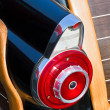 Stock Photo: Fifties Automobile Taillight Fin