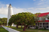 Ocracoke Lighthouse — Stock Photo