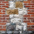 Stock Photo: Interesting Brick and Stone Wall