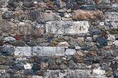 Amalgamated Stone Wall — Stock Photo