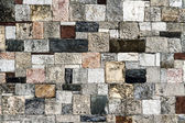 Wall of Many Stones — Stock Photo