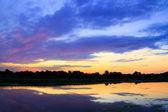 Sunrise Pond — Stock Photo