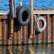 Stock Photo: Boat Bumpers