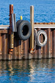 Boat Bumpers — Stock Photo