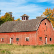 Stock Photo: Old Red Barn in Wisconsin