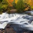 Fall at Upper Bond Falls — Stock Photo