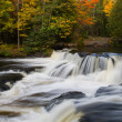 Stock Photo: Upper Bond Falls in the Fall