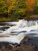 Bond Falls in Autumn — Stock Photo
