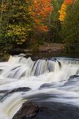 Michigan's Upper Bond Falls — Stock fotografie